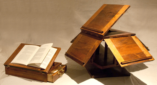 Jefferson Writing Box and Revolving Bookstand
