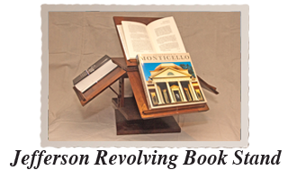 Jefferson Revolving Book Stand